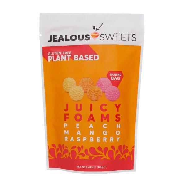 Juicy Foams Share Bag (Peach/Mango/Raspberry) 125g x 7