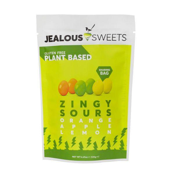 Zingy Sour Beans Share Bags (Orange/Apple/Lemon) 125g x 7