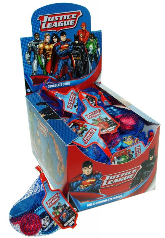 Justice League Net of Coins 60g x 25