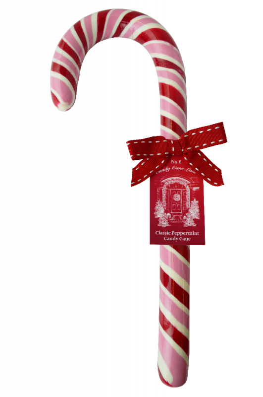 No 6 Candy Cane Lane - Giant Candy Cane 300g x 6