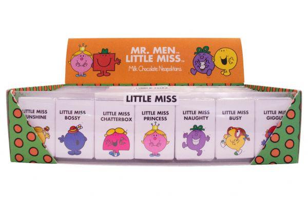 Little Miss - Milk Chocolate Neapolitans 59.5 g x 16