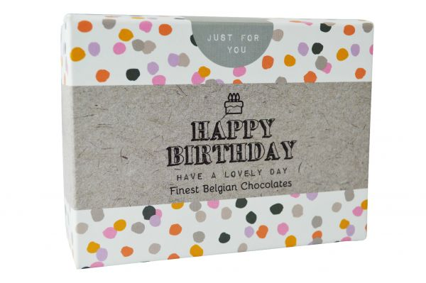 Happy Birthday Chocolate Box 86g x 12