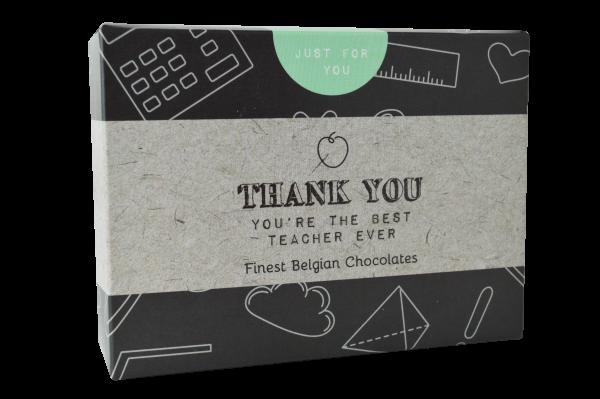 Thank You Teacher Chocolate Box 86g x 12