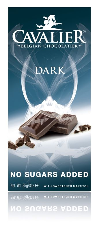 Cavalier Dark Chocolate No Added Sugar Bar 85g x 14