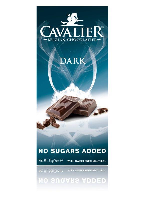 Cavalier Dark Chocolate No Added Sugar Bar 85g x 14