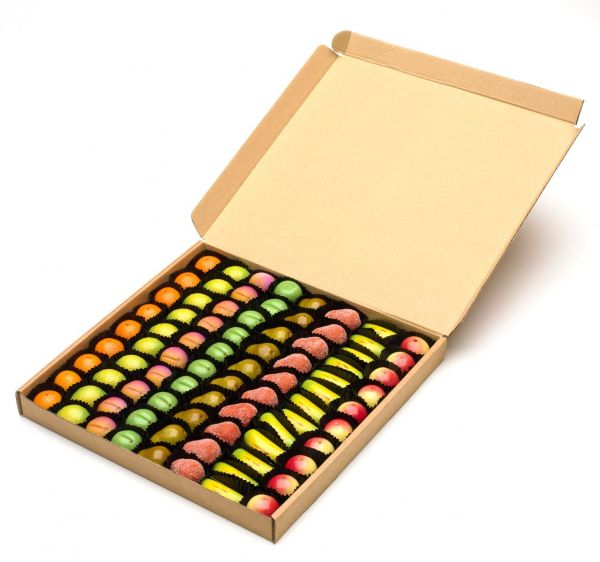 Marzipan Fruits x 940g (Approx 82pcs)