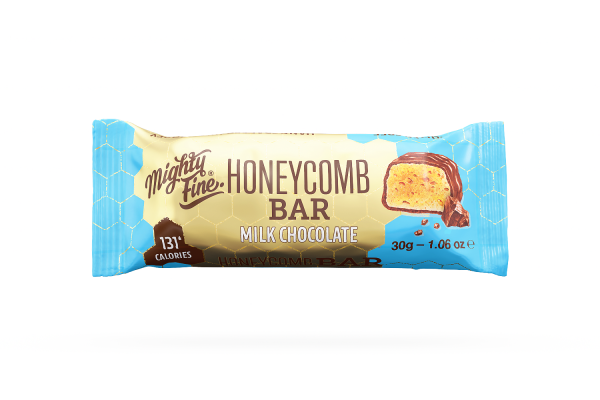 Milk Chocolate Honeycomb Bar 30g x 15