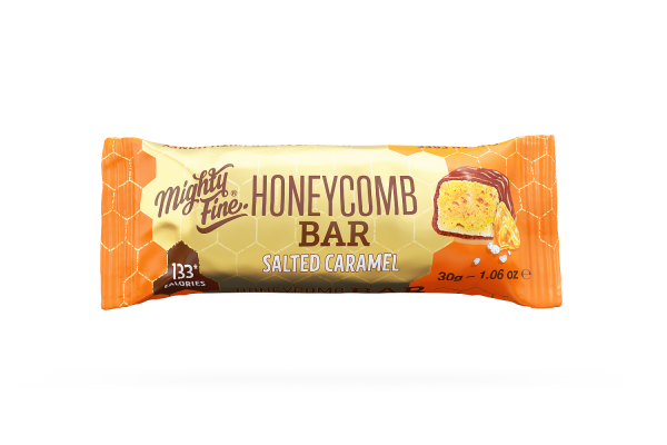 Salted Caramel Chocolate Honeycomb Bar 30g x 15
