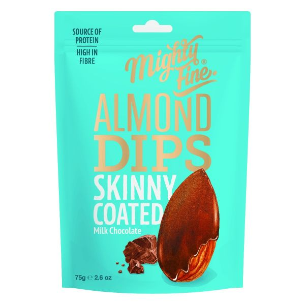 Milk Chocolate Almond Dips 75g x 12
