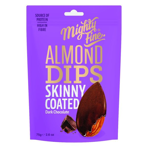 Dark Chocolate Almond Dips 75g x 12