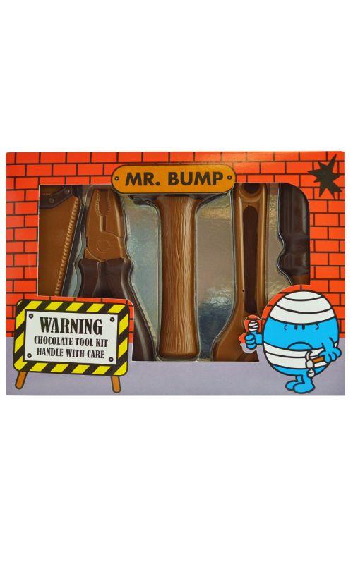 Mr Men - Mr Bump - Chocolate Tool Kit 150g x 8