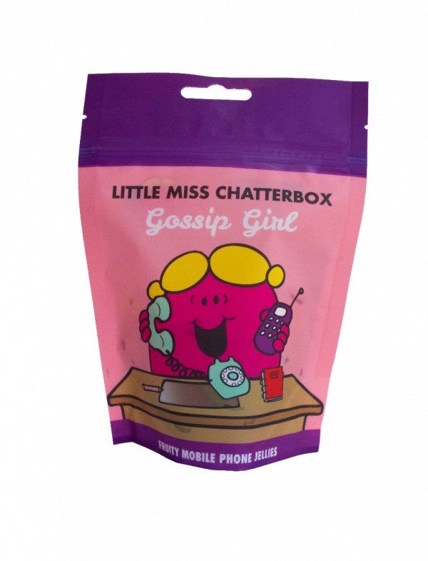 Little Miss Chatterbox Fruity Mobile Phone Shaped Jellies 140g x 20