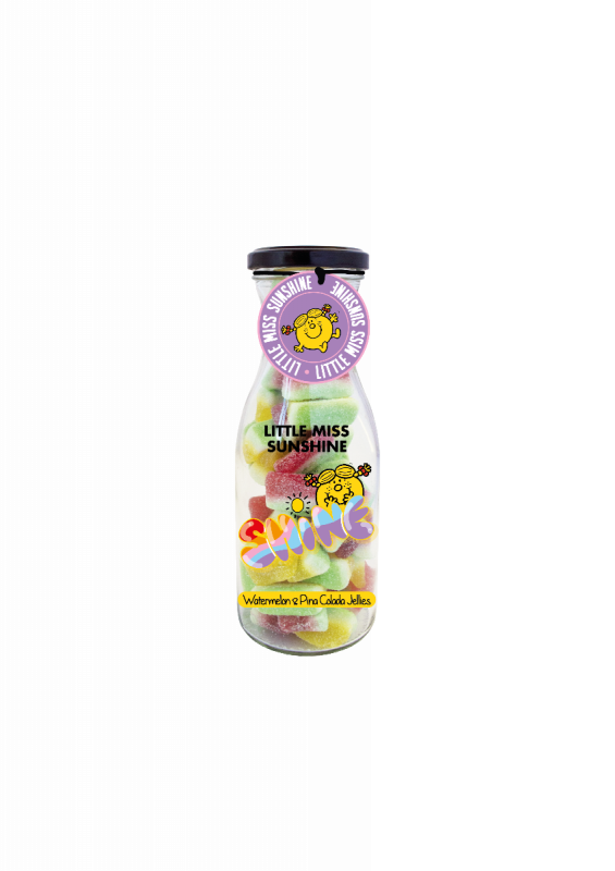 Little Miss Sunshine Watermelon & Pina Colada Jellies 350g x 6