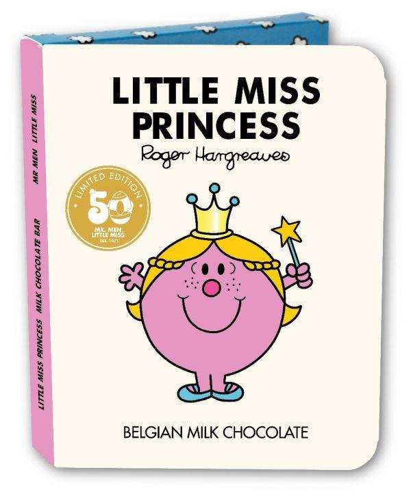 Little Miss Princess Milk Chocolate Bar Book 85g x 16