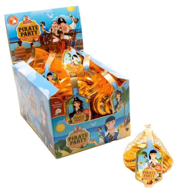 Pirate Party net of Coins 60g x 25
