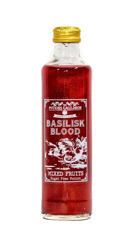 Basilisk Blood - Mixed Fruit Flavour Potion 250ml x 12