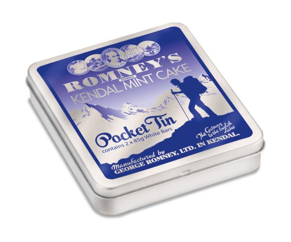 Pocket Tin of Romney's Mint Cake (2x85g) 170g x 16