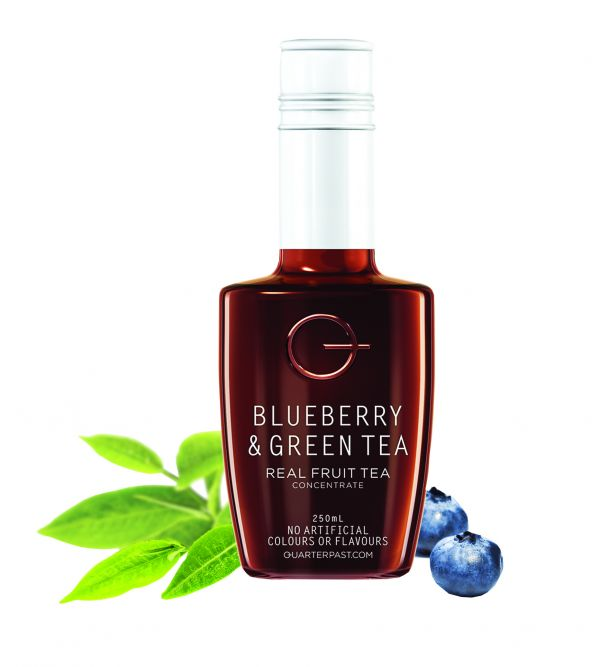 Blueberry & Green Real Fruit Tea Concentrate  250ml x 8