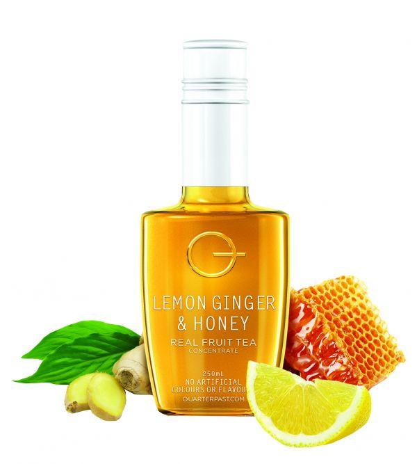 Lemon Ginger & Honey Real Fruit Tea Concentrate  250ml x 8