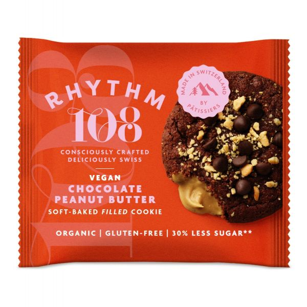 Chocolate Peanut Butter Soft-Baked Filled Cookie 50g x 12