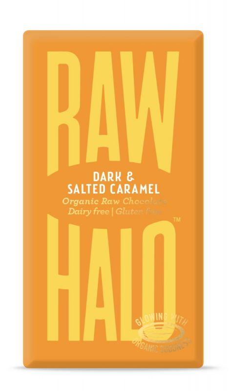 Dark & Salted Caramel Chocolate Bar 35g x 10