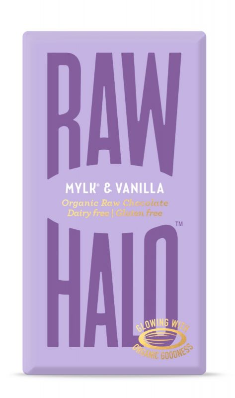 Mylk & Vanilla Organic Raw Chocolate Bar 35g x 10