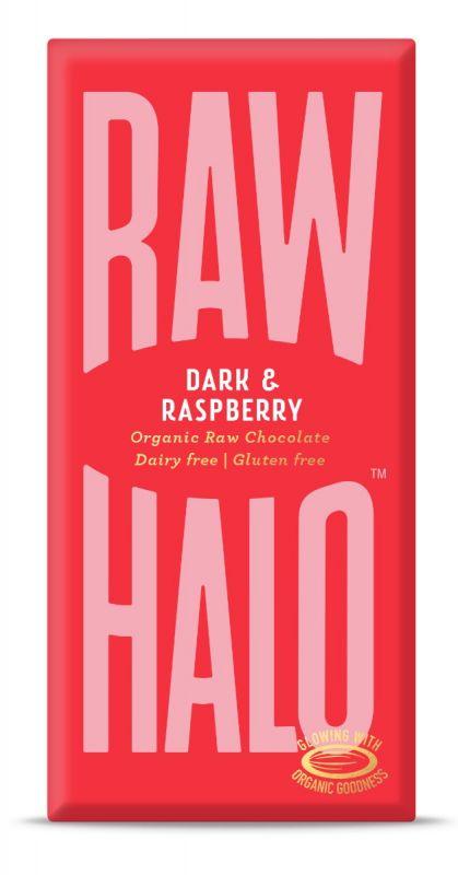 Dark & Raspberry Chocolate Bar 70g x 10