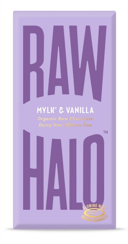 Mylk & Vanilla Organic Raw Chocolate Bar 70g x 10