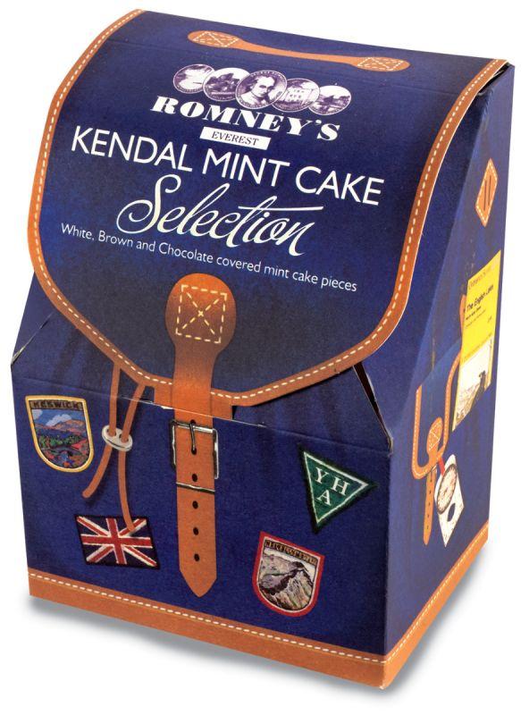 Romneys Mint Cake Rucksack 300g x 8