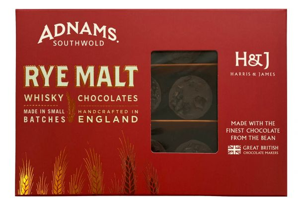 Adnams Rye Malt Chocolates 180g x 8