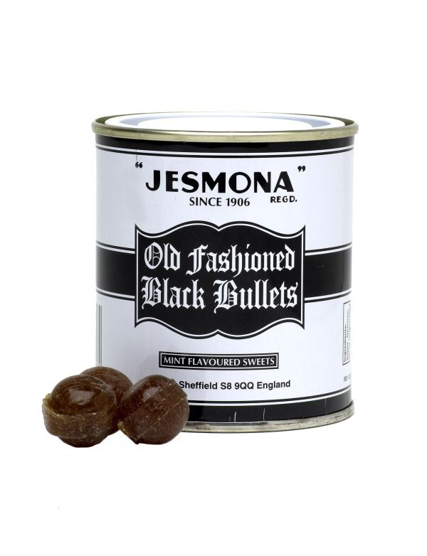 Jesmona Old Fashioned Black Bullets 250g x 12