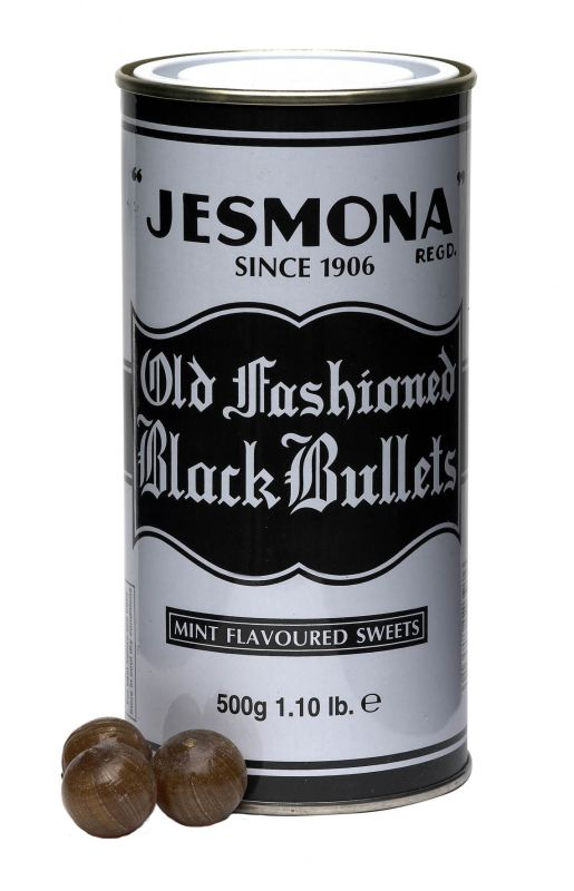 Jesmona Old Fashioned Black Bullets 500g x 6