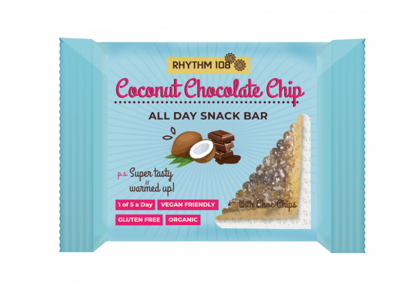 Coconut Chocolate Chip Snack Bar 40g x 12