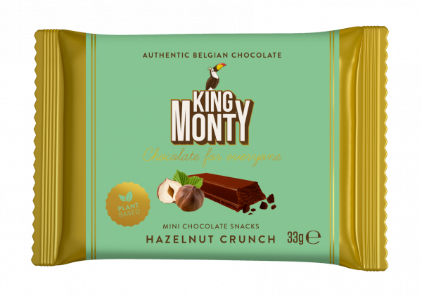 Hazelnut Crunch Snacking Size 33g x 12