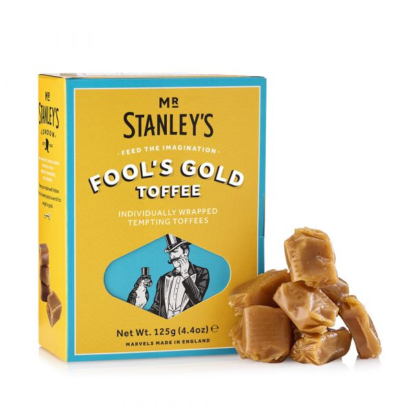 Fool's Gold Toffee (Individually Wrapped Butter Toffees) 125g x 12