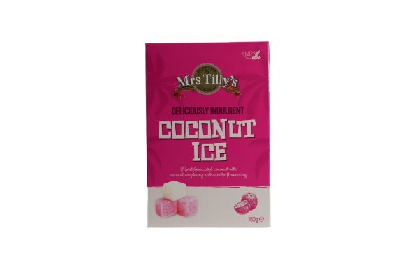 Coconut Ice 150g x 6
