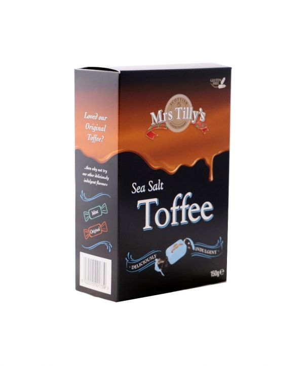 Sea Salt - Butter Toffee 150g x 6