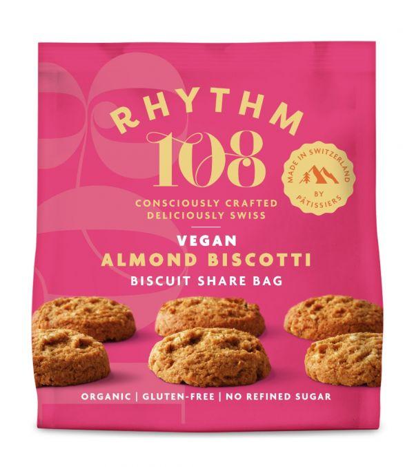 Sharing Biscuit Bag - Almond Biscotti  135g x 12