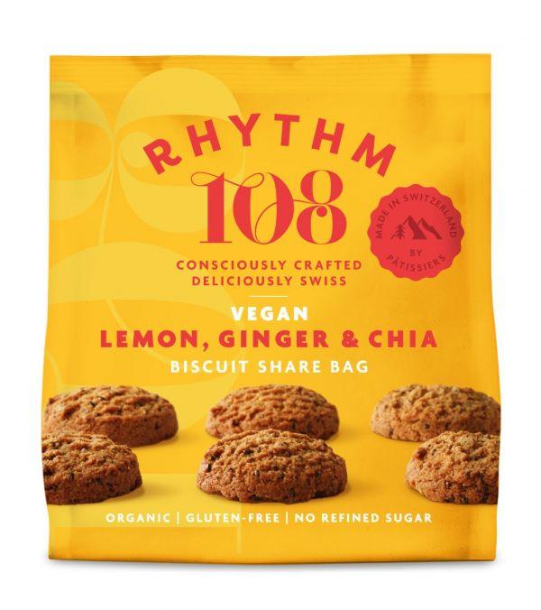 Sharing Biscuit Bag - Lemon Chia 135g x 12