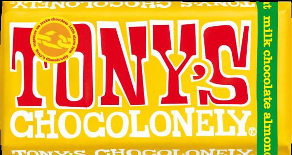 Milk Chocolate 32% Almond, Honey and Nougat 180g x 15 FAIRTRADE
