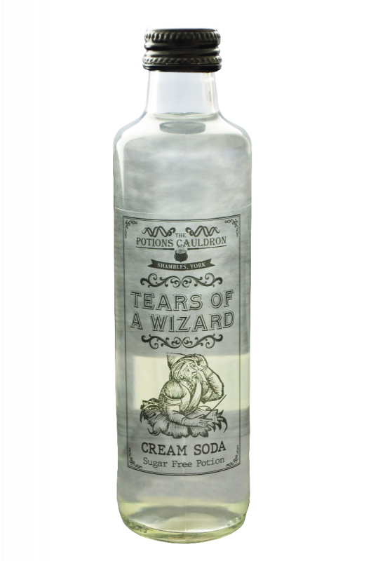 Tears Of A Wizard - Cream Soda Flavour Potion 250ml x 12