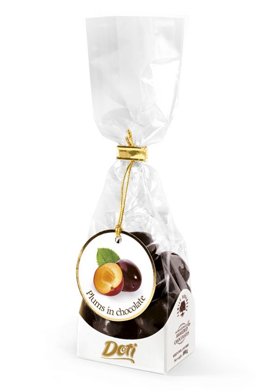 Plums in Chocolate 100g x 8