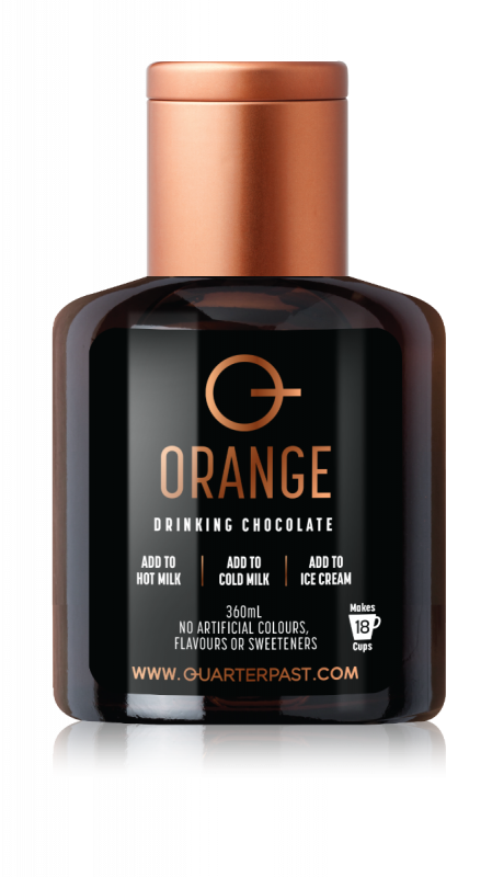 Orange Drinking Chocolate 360ml x 4