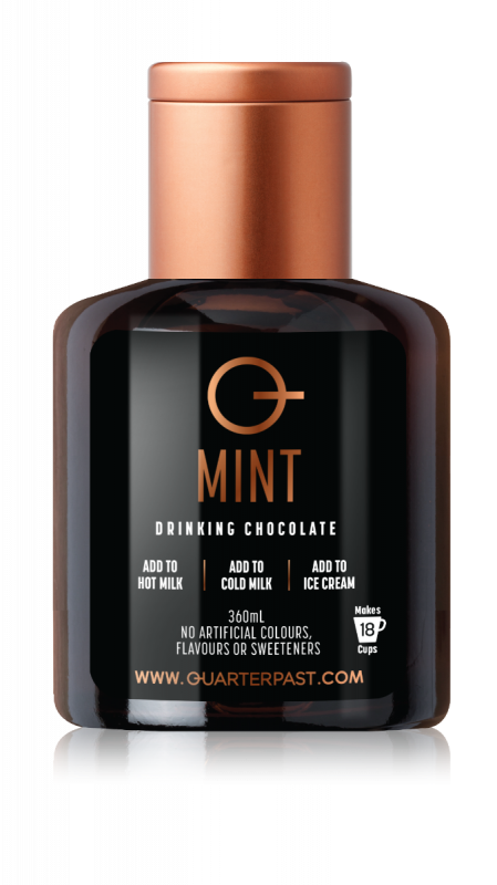 Mint Drinking Chocolate 360ml x 4