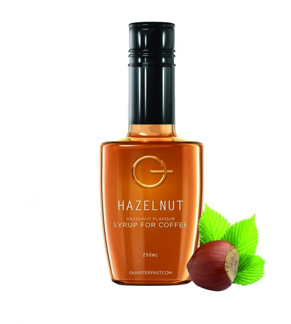 Hazelnut Syrup for Coffee  250ml x 8 Zero VAT