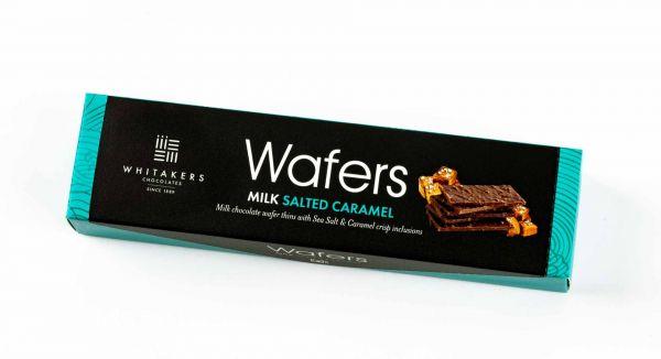 Milk Salted Caramel Wafers 175g x 12, Fairtrade