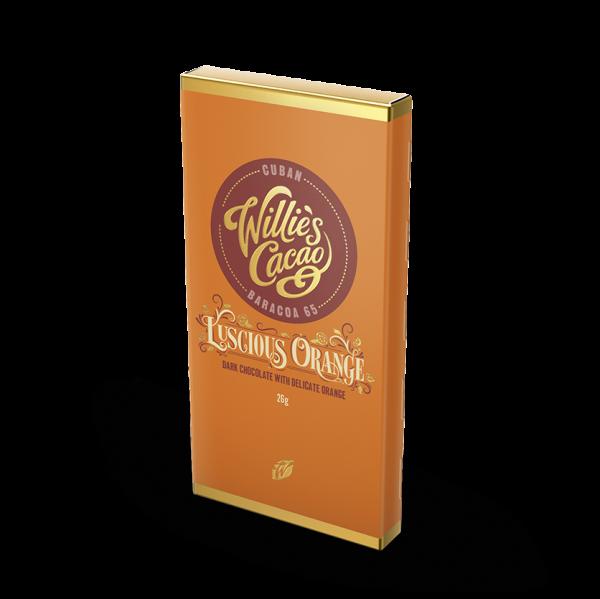 Luscious Orange - Dark Choc with Delicate Orange 26g x 30