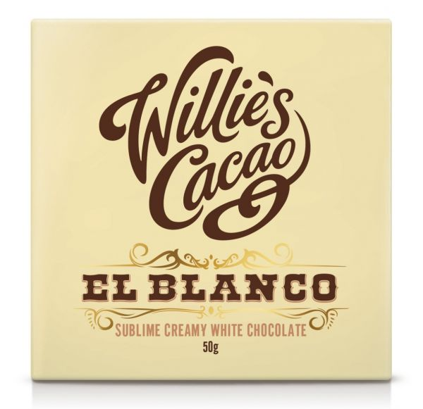 EL BLANCO Sublime creamy white chocolate made with natural cocoa butter 50g x 12