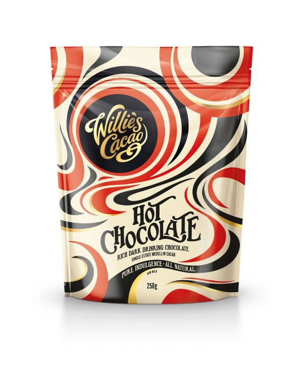 Single Estate Medellin Cacao Dark Hot Chocolate 250g x 8