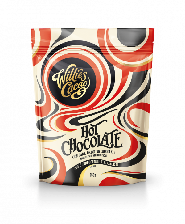 Single Estate Medellin Cacao Dark Hot Chocolate 250g x 4